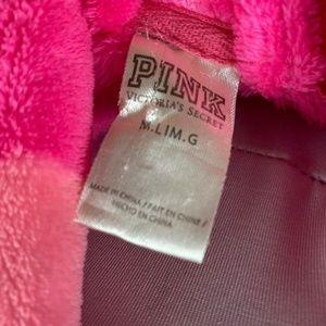 Victoria's Secret Intimates & Sleepwear - Victoria Secret Pink Polka Dot Silver Sequin Fleec